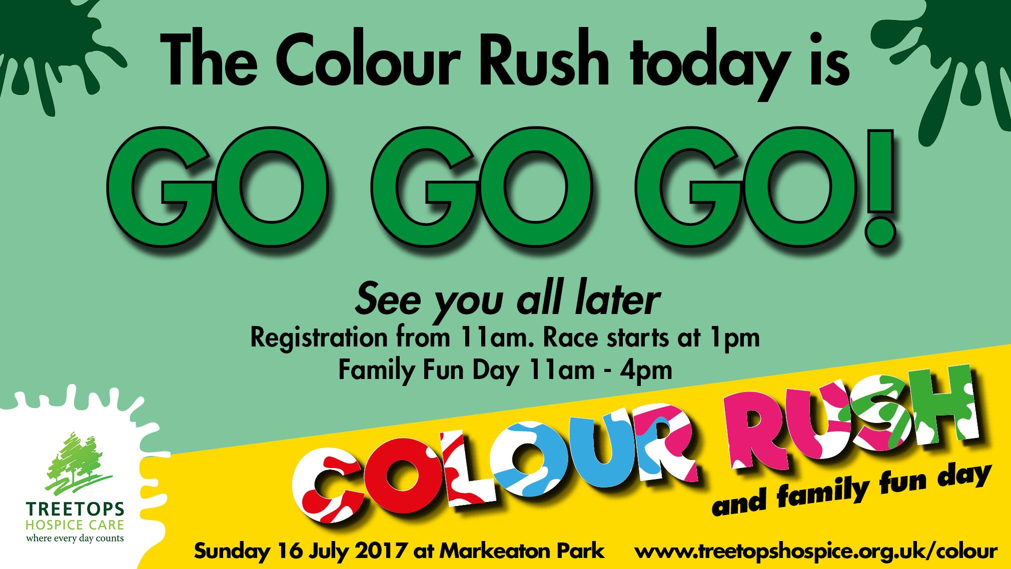 Colour Rush is GO