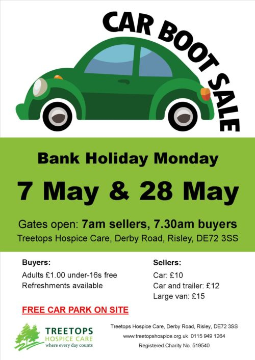 Bank Holiday Monday August  Car Boot
