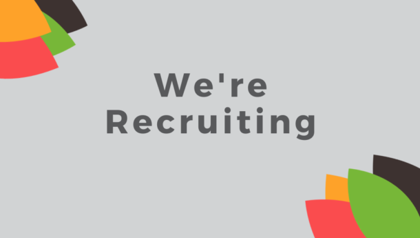 we are recruiting sign